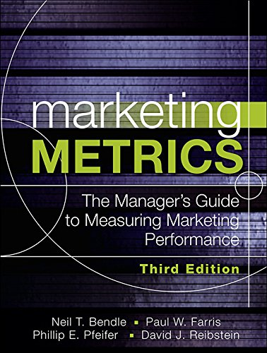Marketing Metrics: The Manager's Guide to Measuring Marketing Performance (Software Metrics And Measurement compare prices)