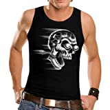 Wellcoda Shut Up And Ride Biker Funny Mens Sleeveless T-Shirt NEW Top Tank 100% Cotton Vest S-2XL Size
