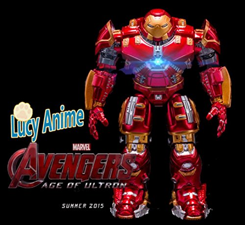 Rosy Women Marvel Comics The Avengers2 Iron Man Armor Pk Hulk Age Of Ultron Pvc Action Figure Collection Model Toys Doll (Iron Man Cosplay Armor)