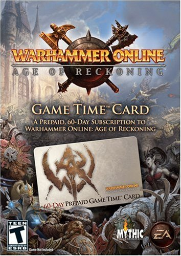 Warhammer Online - Age Of Reckoning - Pre-Paid Timecard - Windows
