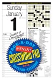 img - for Mensa Crossword Page-a-Day and Notepad 2012 Calendar book / textbook / text book