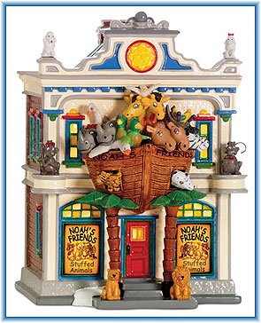 Department 56 Original Snow Village® NOAH'S STUFFED ANIMALS