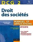 DCG 2 - Droit des soci�t�s 2015/2016...