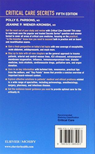 critical care secrets 5th edition pdf