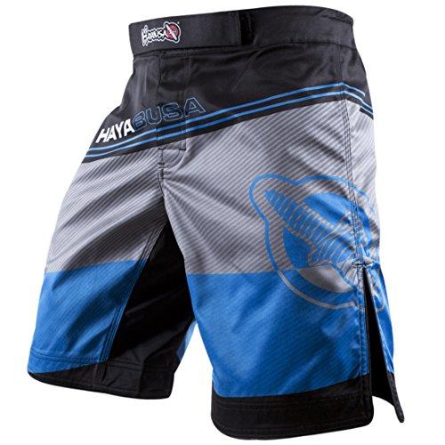 Hayabusa Men's Kyoudo Prime Performance MMA Shorts Blue 34 waist (Mma Gear Hayabusa compare prices)