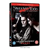 Sweeney Todd - The Demon Barber of Fleet Street [2 Disc] [DVD] [2007]by Johnny Depp