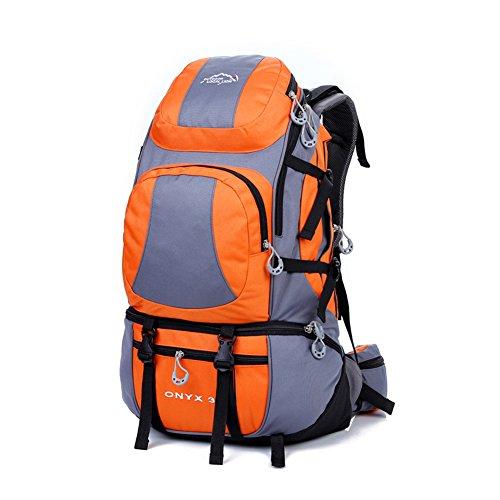 Diamond Candy Zaino da Trekking Outdoor Donna e Uomo con Protezione Impermeabile per alpinismo arrampicata equitazione ad Alta Capacitš€ borsa da viaggio,Multifunzione, 38 litri Arancione
