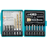 Makita T-00153 17-Piece Impact Driver Drill Accessory Set