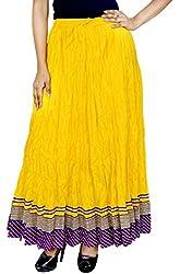 Rangreja Women's Skirt (WESK101YPU38_Red_38)