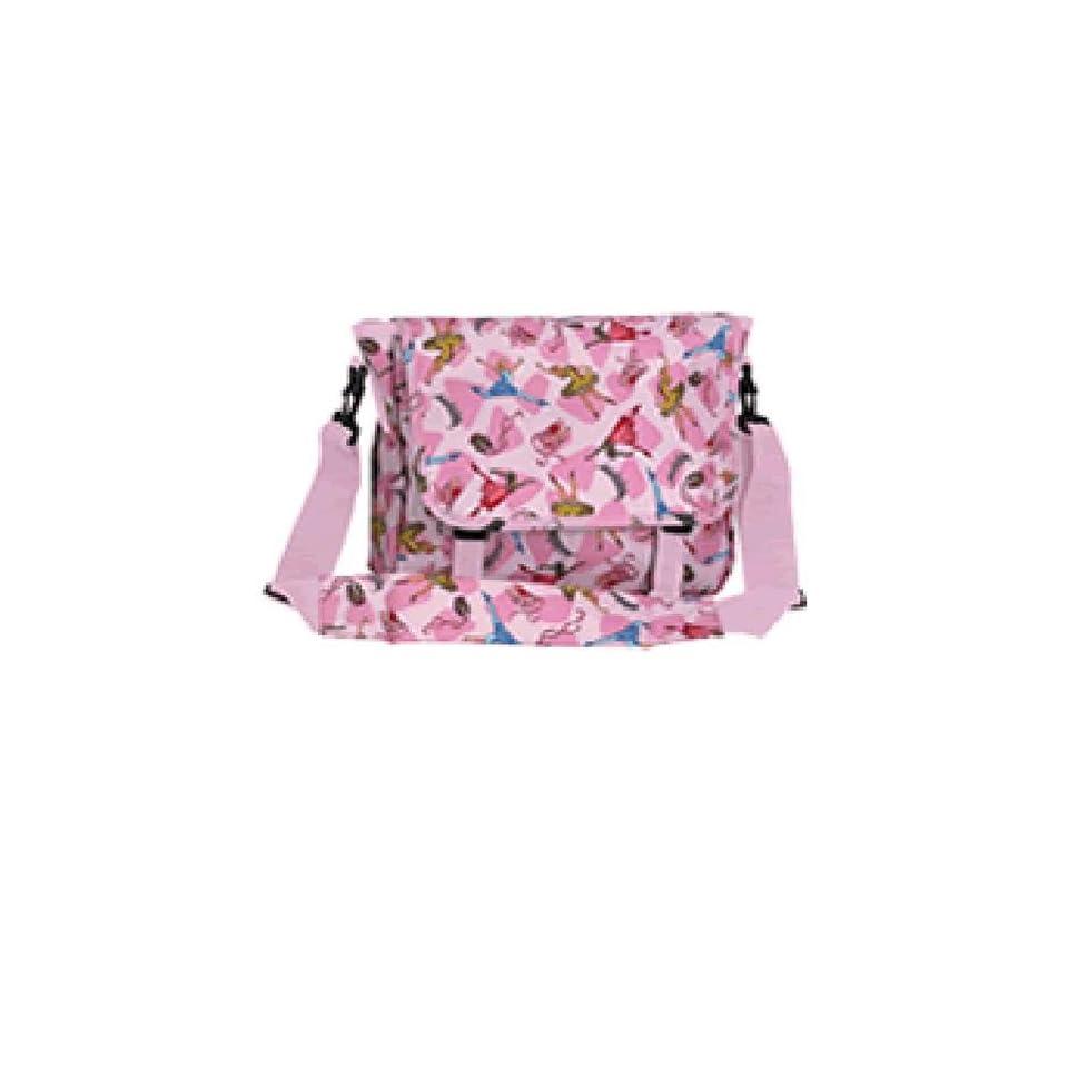 Wildkin Pink Ballerina Messenger Bag LARGE