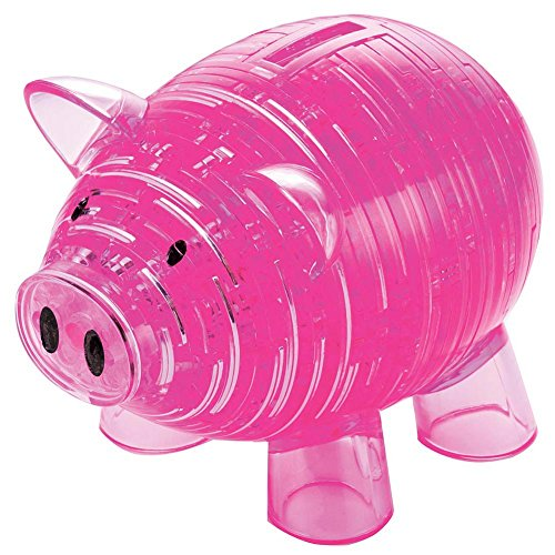 Original 3D Crystal Puzzle - Deluxe Piggy Bank