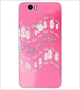 PrintDhaba Quote D-5524 Back Case Cover for HUAWEI NEXUS 6P (Multi-Coloured)