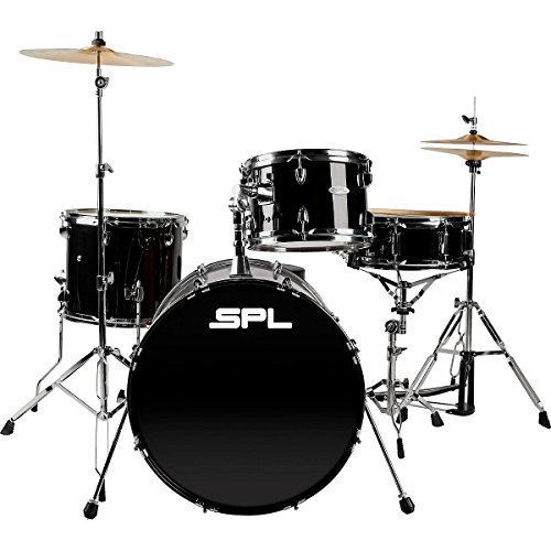 Sound Percussion Labs Unity 4-Piece Drum Set with Hardware Black