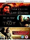 The Last Samurai/Troy/Alexander (Director's Cut) [DVD] [2006]