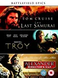 The Last Samurai/Troy/Alexander (Director's Cut) [DVD] [2006]