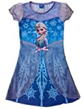 Frozen Disney Princess Elsa Child Girls Fancy Dress Costume Cosplay Skirt M Size (L)