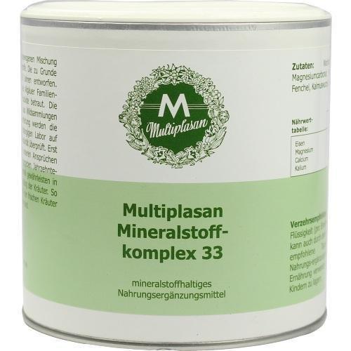 MULTIPLASAN Mineralstoffkomplex 33 Pulver 300 g