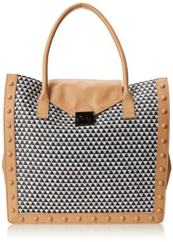 LOEFFLER RANDALL WRKTOTE-WRN Carry On,Black/Natural,One Size