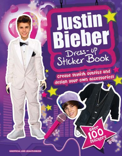 Justin Bieber Dress-up Sticker Book
