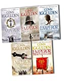 img - for Conn Iggulden Emperor Series, 5 Books Collection Pack Set RRP:  40.95 (The Gods of War, The Gates of Rome, The Death of Kings, The Field of Swords,The Blood of Gods) book / textbook / text book
