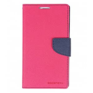 BS Mercury Goospery Fancy Diary Wallet Flip Cover for Samsung Galaxy J2 - Pink