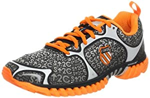 K-Swiss Men's Kwicky Blade Running shoe,Black/Vibrant Orange,14 M US