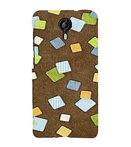 EPICCASE Falling cubes Mobile Back Case Cover For Micromax Canvas Nitro 4G E455 (Designer Case)