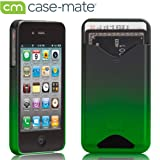 Case-Mate iPhone4 専用 カードホルダー付ハードケース ID Case マット・ロイヤル・グリーン CM012230