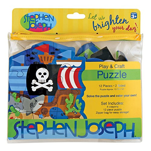 Stephen Joseph Play and Craft Puzzle- Pirate - 1