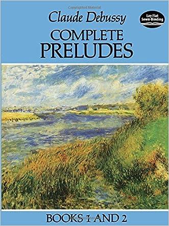 Complete Preludes, Books 1 and 2 (Dover Music for Piano)