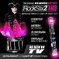 Hot Pink - Led Light Up Drum Sticks - Rockstix Firestix from ROCKSTIX