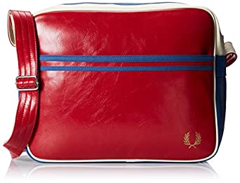 Fred Perry Classic Shoulder Bag Red 31