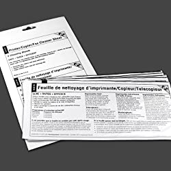 EZ Printer/Copier/Fax Cleaner Sheet (5 sheets)