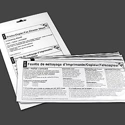EZ Printer/Copier/Fax Cleaner Sheet (5 sheets)