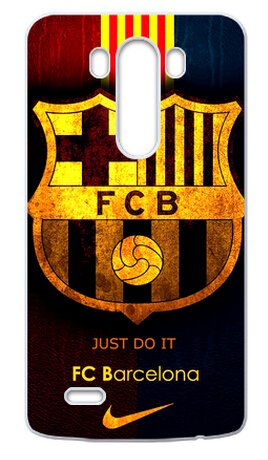 FC Barcelona Official Football Soccer Case Cover of LG G3 (Laser Technology)