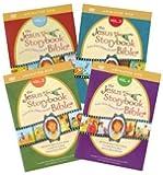 The Jesus Storybook Bible Animated DVD Complete Set Volumes 1-4 by: Sally Lloyd-Jones (Zondervan)