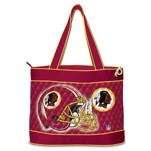 NFL Washington Redskins Tote Bag by The Bradford Exchange at Amazon.com