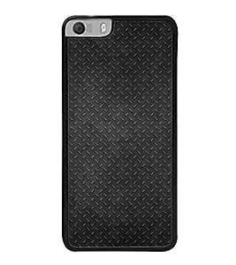 Fuson Premium 2D Back Case Cover Black pattern With Purple Background Degined For Micromax Canvas Knight 2 E471
