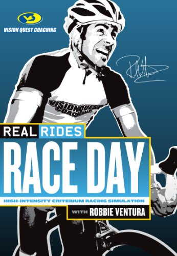  Cycleops Real Rides Raceday Dvd SPORTS