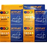 Jetplay 1 Set Of 4 Compatible Ink Cartridges For Epson XP-30, 102, 202, 305, 405