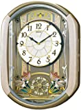 SEIKO CLOCK (セイコークロック) 掛け時計 ウェーブシンフォニー 電波時計 からくり RE567G