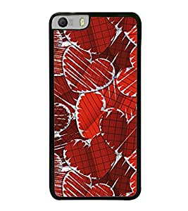 Hearts 2D Hard Polycarbonate Designer Back Case Cover for Micromax Canvas Knight 2 E471