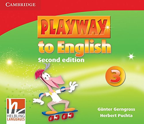 Playway to English Level 3 Class Audio CDs (3)