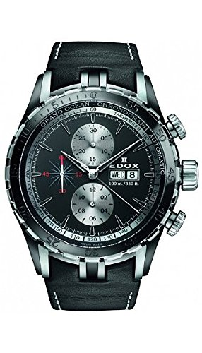 Edox Grand Ocean montre homme chronographe automatique 01121 357N NIN