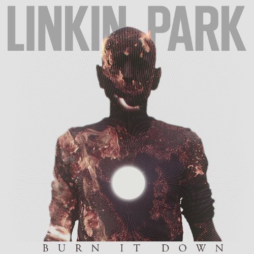 Original album cover of BURN IT DOWN - Single by Linkin Park