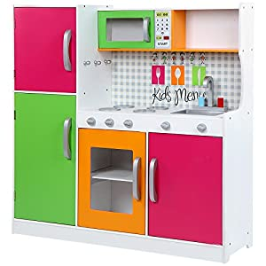 Cucina gioco cucina giocatolo cucina bambini legno amazon - Cucine per bambine ...
