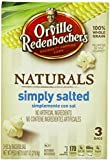 Orville Redenbacher's Gourmet Microwavable Popcorn, Natural Simply Salted, 9.87 oz Box (Pack of 3)