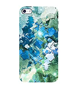 ARTICTIC CANVAS PAINTED DESIGN PATTERN 3D Hard Polycarbonate Designer Back Case Cover for Apple iPhone 4