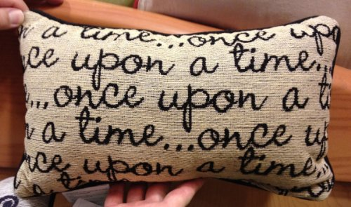 Disney Park Once Upon a Time Decorative Toss Pillow Decorator