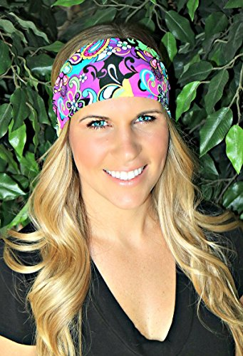 RAVEbandz Sports & Fitness Headbands - HIPPIE CHICK